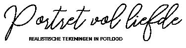 Portret vol liefde Logo